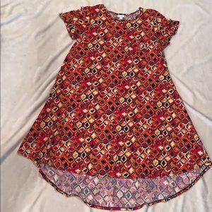 LuluRoe Geometric High-Low Dress